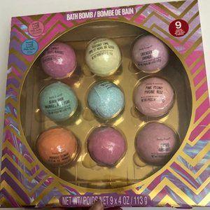 Box of 9 Assorted Bath Bombs